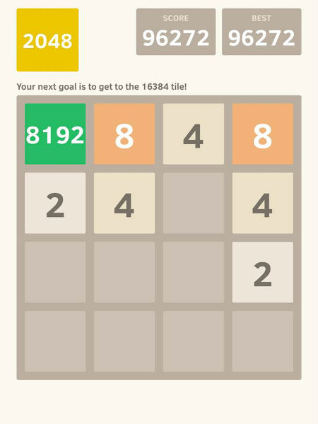 Top Runner Rus Successfully Attained The 8192 Tile