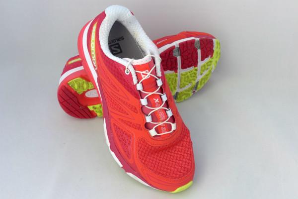 The Salomon X-Scream 3D shoes.