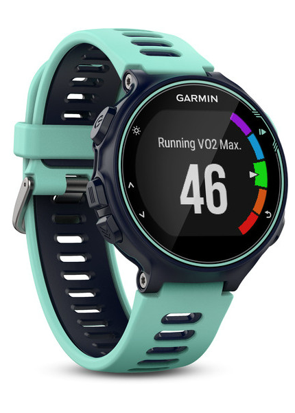VO2 max is also calculated on the 735XT when running.