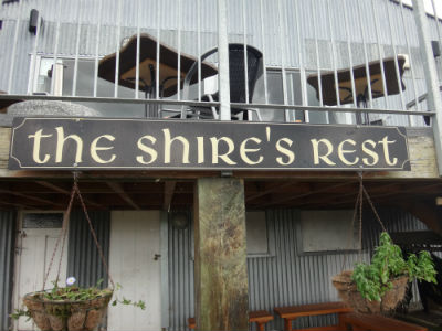 The Shire's Rest cafe.