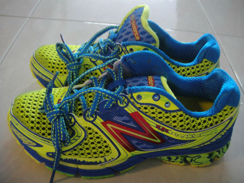 The correct running shoes are very important, according to Meng Hui.