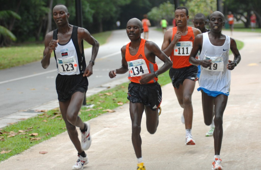 Mr Foo hopes to rub shoulders with the top Kenyan runners. [Photo by www.marathontalk.com]
