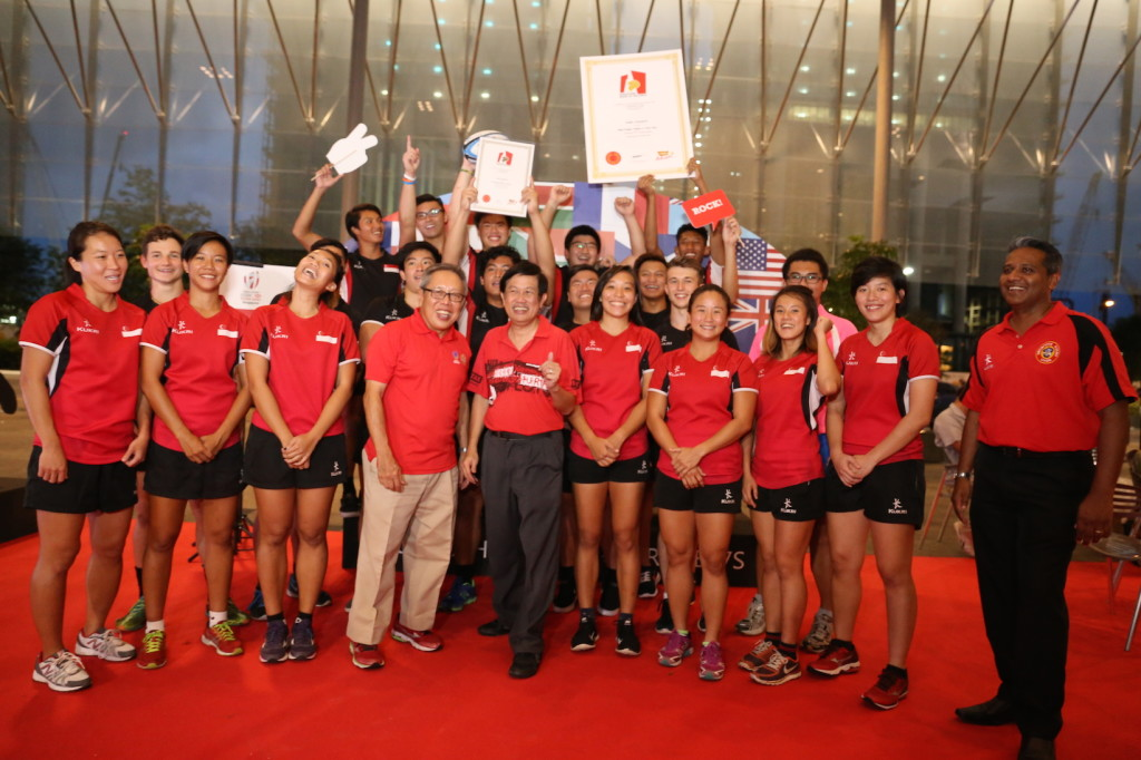 Singapore's rugby players are Guinness World Record holders. (Photo courtesy of Rugby Singapore)