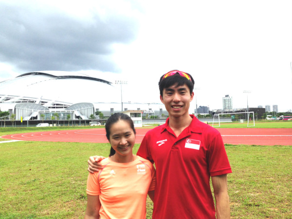 A photo taken with Soh Rui Yong last December.