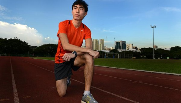 Local marathoner Soh Rui Yong is looking forward to the SEA Games in Singapore this year. Photo Credit: Straits Times