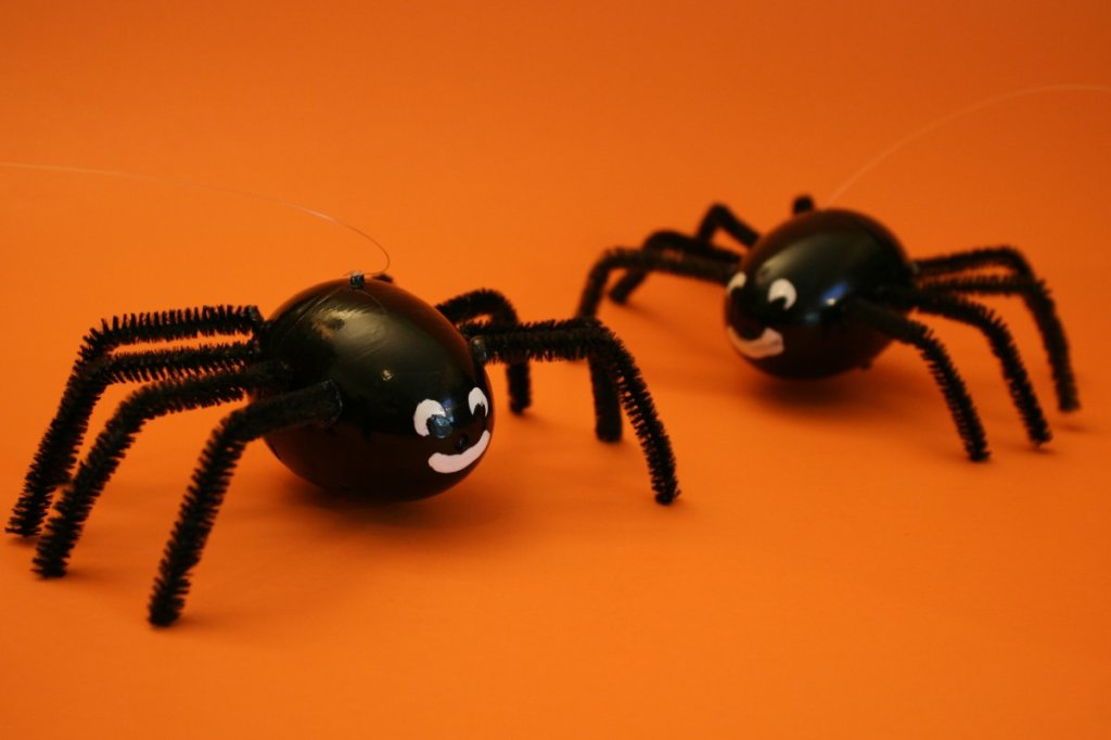 Seeing spiders on Halloween night may not be a bad thing. (Source: www.chicaandjo.com)