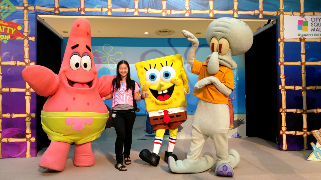 Get an exclusive photo with Spongebob and his buddies - after the show.