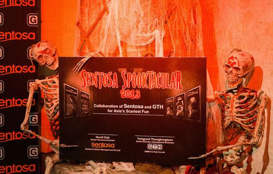 Sentosa Spooktacular 2013. (Photo from Deiji.com)