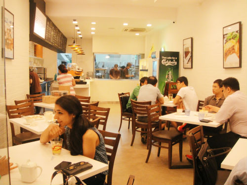 Pies and Coffee: A concept cafe for pies in Singapore.
