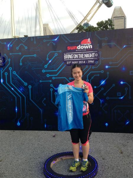 I completed Sundown Marathon!