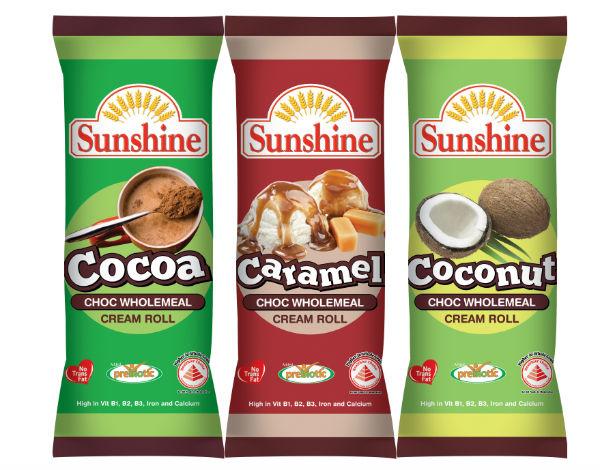 Sunshine's chocolate cream rolls. (Credit: Sunshine Bakeries)