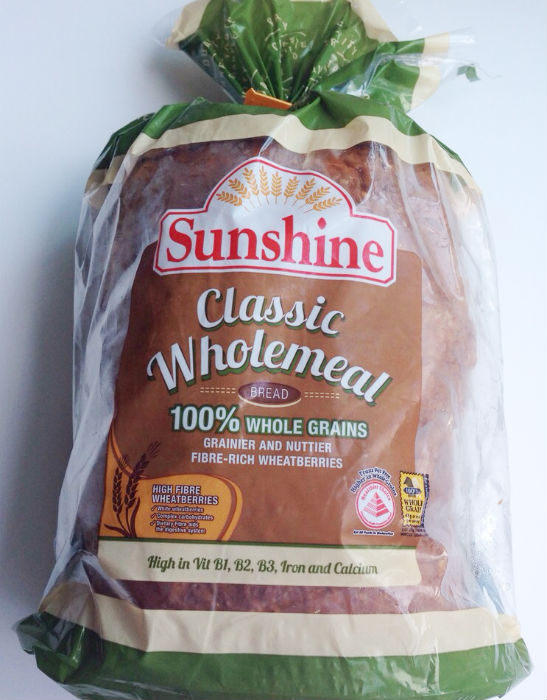 Sunshine Classic Wholemeal Bread, a new product of Sunshine Bakeries.