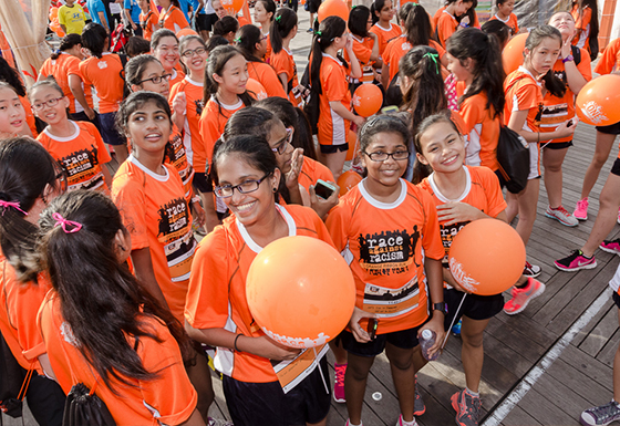 You can still take part in the Orange Ribbon Run. Photo by: Orange Ribbon Run.