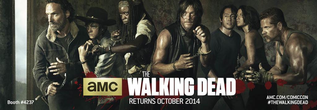 The Walking Dead will reach its midseason finale on Monday. (Source: blogs.amctv.com)