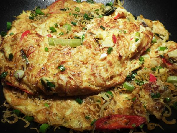 Three Egg Omelette.
