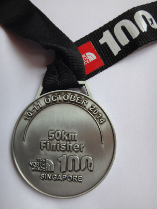 I conquered the 50km trail race at The North Face 2014!