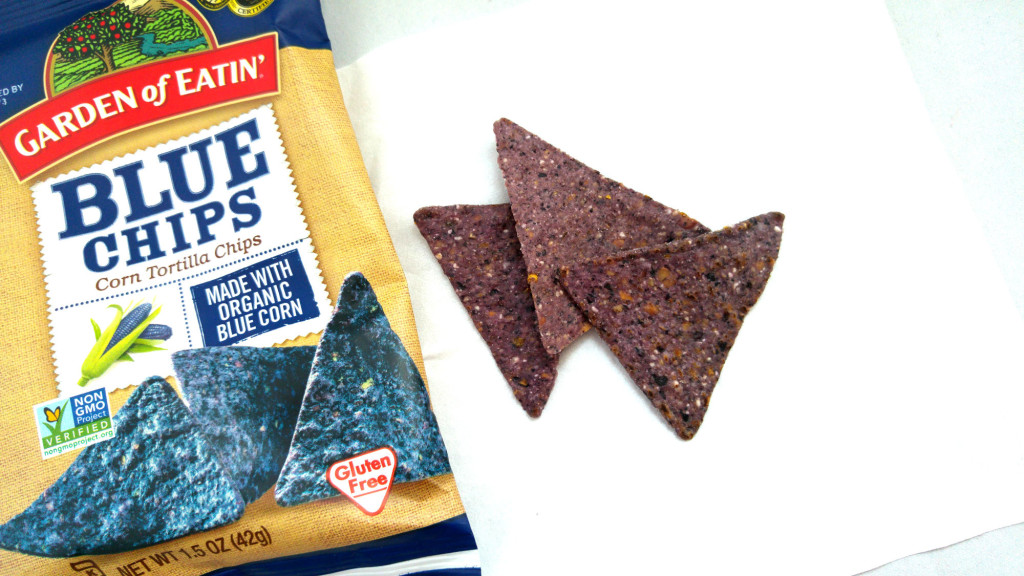 The Blue Corn Tortilla Chips was my favourite item in the snack box.