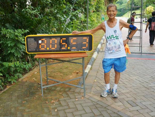 Marathon #99 completed at the MR25 trail marathon.
