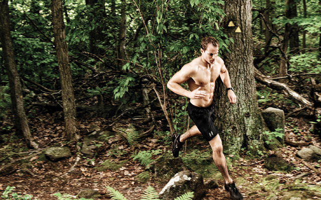What tips do the organisers have for aspiring trail runners? [Photo taken from www.menshealth.com.sg]
