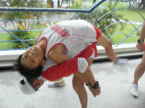 Strength training.