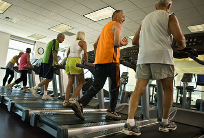 Some find treadmill running boring. (Taken from angryjogger.com)