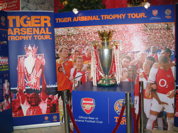 Can Arsenal last the distance and win the BPL Trophy again, like they did in 2004?