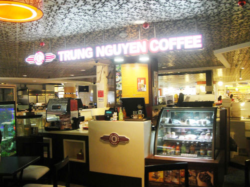 Trung Nguyen Vietnamese Cafe.