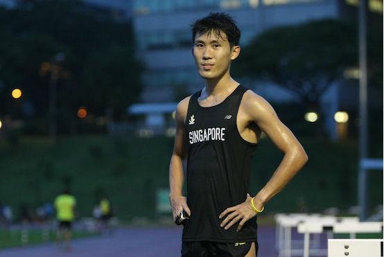Colin Tung. Credit: RedSports.sg.