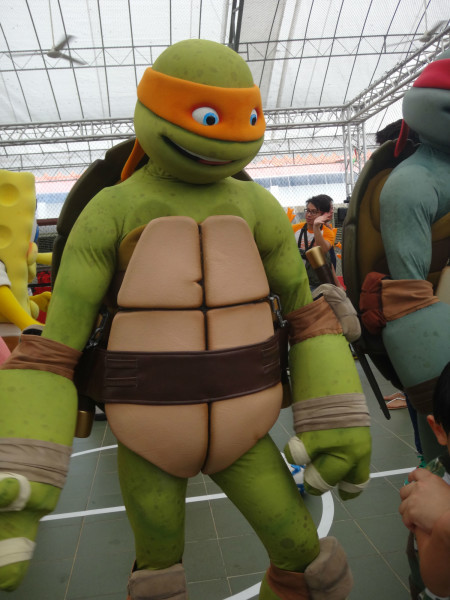 Cowabunga! Fans got the chance to meet Rafael from TMNT.