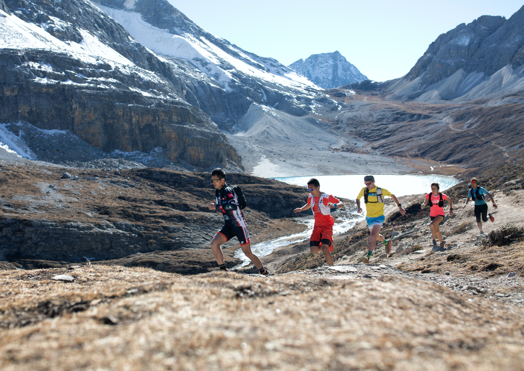 Yading SkyRun begins at 2,800m above sea level. [Photo from China Mountain Trails]