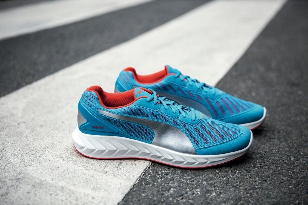 The Ignite Ultimate shoes are Puma's new addition to their Ignite family. [Photo by Puma]