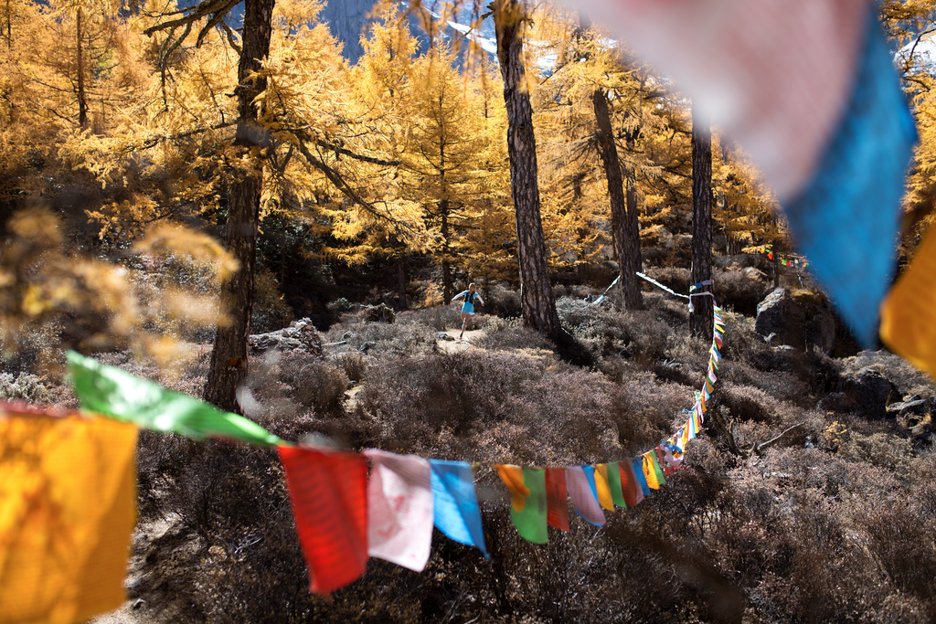 The organisers will take extreme measures to prevent runners from getting lost. [Photo from China Mountain Trails]