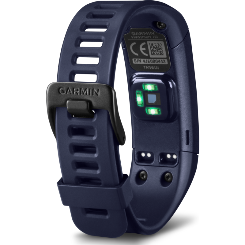 The Vivosmart HR is a comprehensive tracker for everyday fitness activities. [Photo from www.sportiquesf.com]