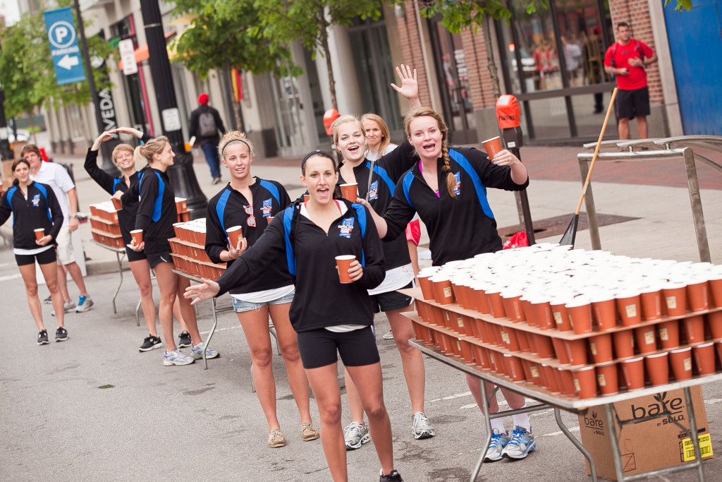 It's important to stay hydrated for SCMS. (Photo by capcitytraining.wordpress.com)