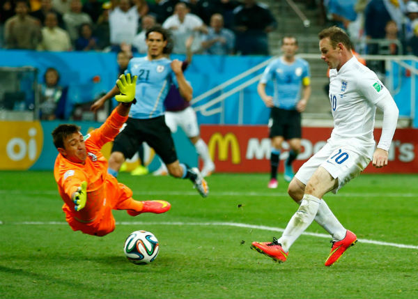 Wayne Rooney's effort may not be enough to save England.