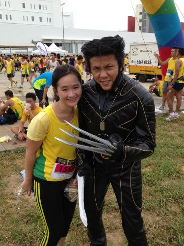 We could meet and greet superheroes like Wolverine.