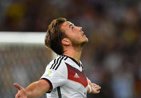 Mario Goetze, Germany's latest hero. (Image: straits times.com)