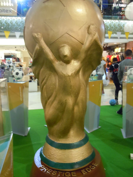 Gigantic FIFA World Cup 2014 Replica Trophy