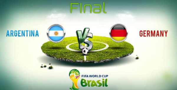 Germany and Argentina will meet in the final. (Image: photo.elsoar.com)