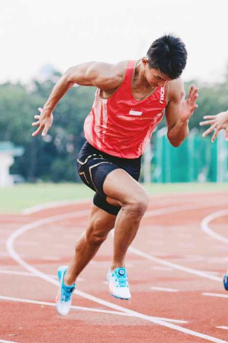 Representing Singapore at the Olympics feels like a dream for Yap.